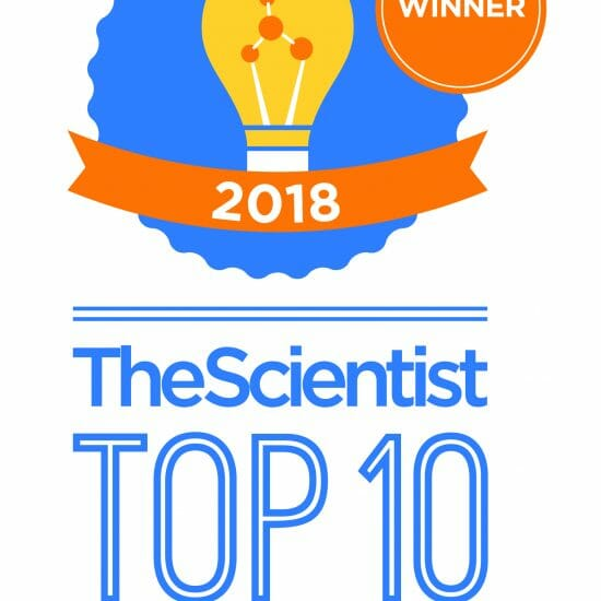 The Scientist names Cyto-Mine® technology #1 in the Top 10 Innovations of 2018.
